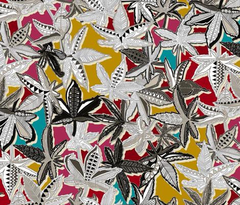 acer fabric by scrummy on Spoonflower - custom fabric