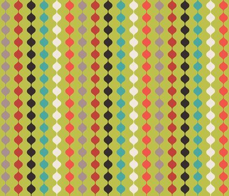 green fabric by erijoyjoy on Spoonflower - custom fabric