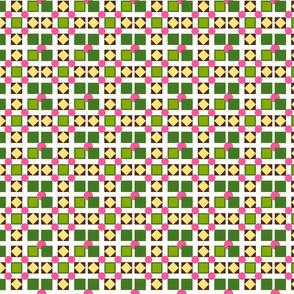 squares and more geometrics white