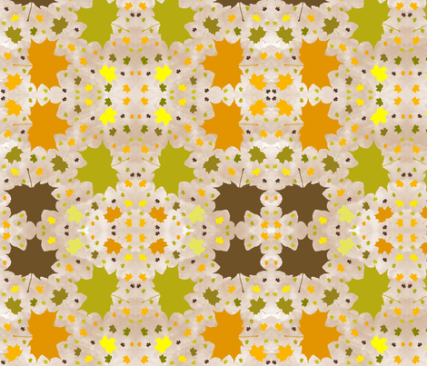 Leaves_of_fall fabric by hmilwicz on Spoonflower - custom fabric