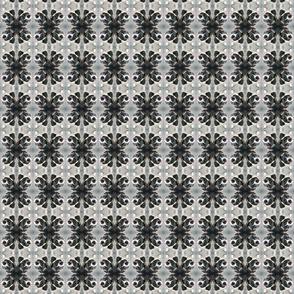 Pit bull mosaic - Gaia gray