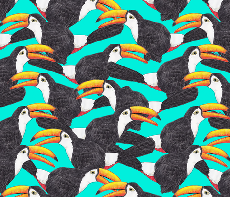 Toucan Green [large print]