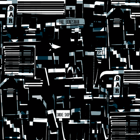 City Noir fabric by boris_thumbkin on Spoonflower - custom fabric