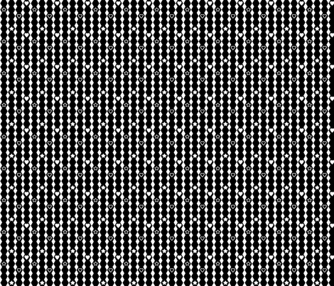 Small Hexagons or Diamonds Inverted fabric by carbonatedcreations on Spoonflower - custom fabric
