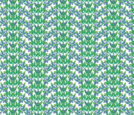 Berries (small print) fabric by lydia_meiying on Spoonflower - custom fabric