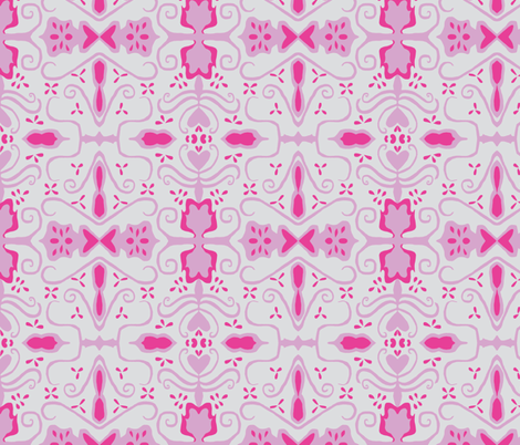 victory petunia fabric by rainsontheplain on Spoonflower - custom fabric