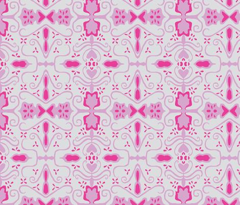 victory petunia fabric by rainsontheplain on Spoonflower - custom fabric