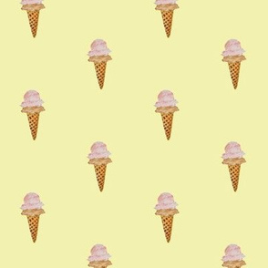 Ice Cream #yellow