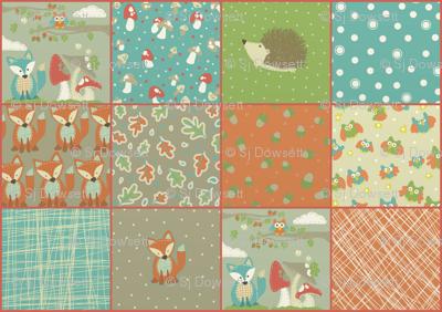 woodlane quilt top