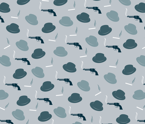 notorious fabric by orangekittycrafts on Spoonflower - custom fabric