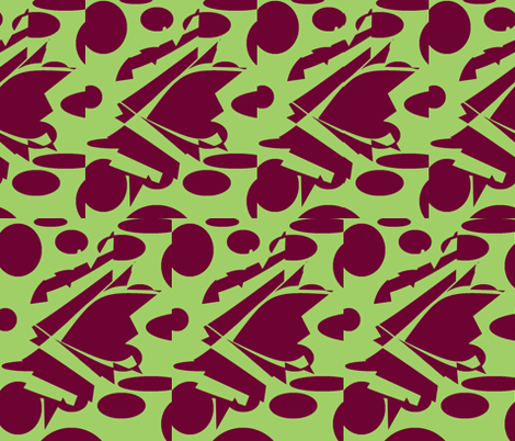 maroon goon-ch fabric by ameadows on Spoonflower - custom fabric