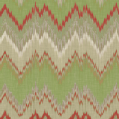 Christmas Ikat Chevron