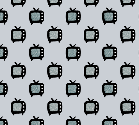 Film Noir fabric by abbyg on Spoonflower - custom fabric