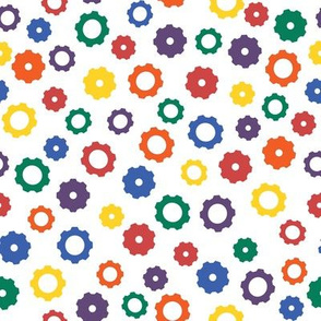 Rainbow Robot Gears