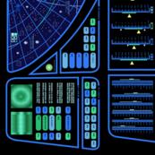 Lcars Trek Star Charts Helm