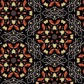 falling leaves kaleidoscope