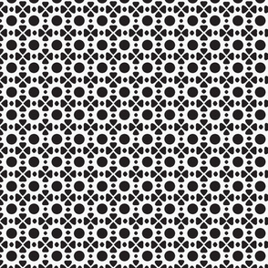 Graphic Dot Floral