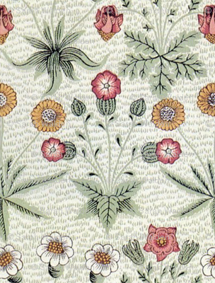 William Morris Daisy ~ Original Colors