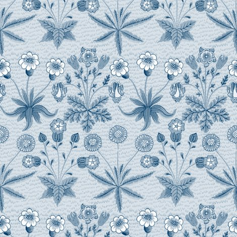 Rdaisy__new__william_morris___lonely_angel_blue_and_white___peacoquette_designs___copyright_2015_shop_preview