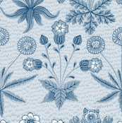 Rdaisy__new__william_morris___lonely_angel_blue_and_white___peacoquette_designs___copyright_2015_shop_thumb