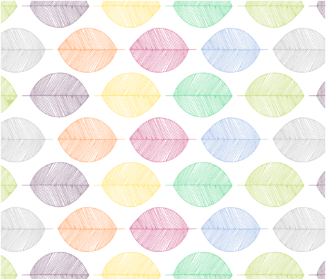 Leaf Litter fabric by kyra_minahan on Spoonflower - custom fabric