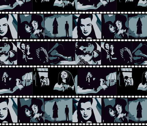 movie stills fabric by kociara on Spoonflower - custom fabric