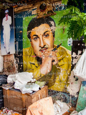 Literary Movie Mural, Chennai