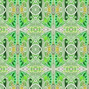Persian Peek A Boo (green)