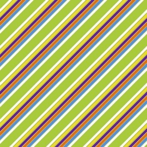 Building Blocks diagonal stripe
