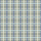Building Blocks plaid gray blue