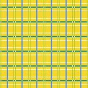 Building Blocks plaid yellow blue