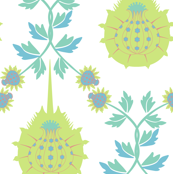Horseshoe Crab Damask