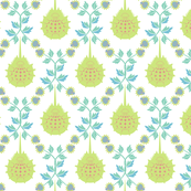 Horseshoe crab damask-small