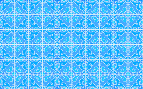 movember blue fabric by myracle on Spoonflower - custom fabric
