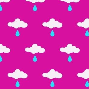 howdy cloudy rain lightblue