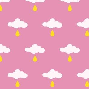 howdy cloudy rain yellow