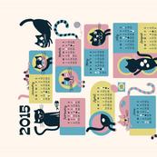2015 Cat Calendar