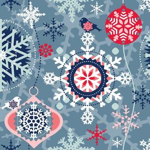 snowflakes in garden 02