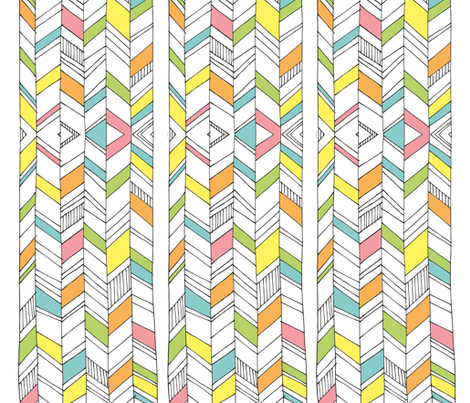 streifen fabric by stefanie_vh on Spoonflower - custom fabric