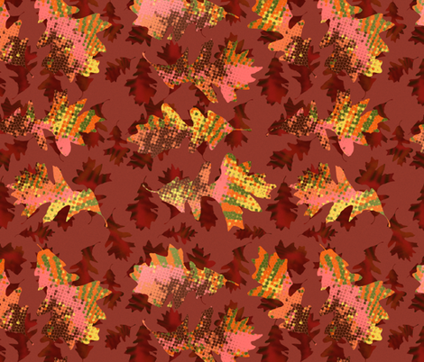 Oaken Color fabric by haleystudio on Spoonflower - custom fabric