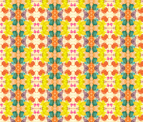 leaves on my walk fabric by artfulhandstudio on Spoonflower - custom fabric