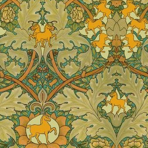 William Morris' Autumn Horses