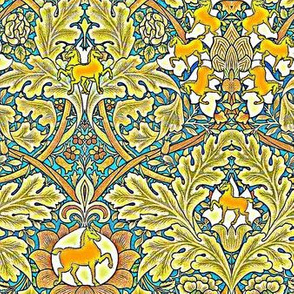 William Morris' Autumnal Horses Bright