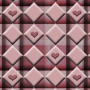A Tic Tac Toe of Hearts