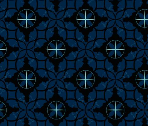 film_noir_design fabric by christinekong on Spoonflower - custom fabric