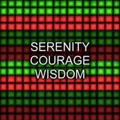 Christmas Serenity Courage Wisdom