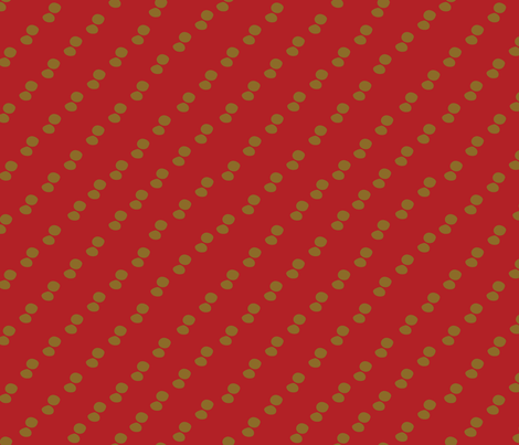 TinTancontrast-red fabric by melhales on Spoonflower - custom fabric