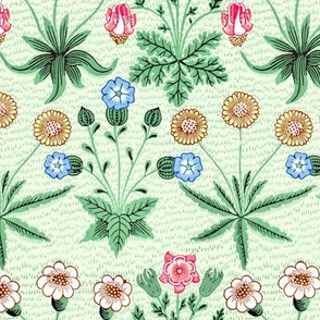 William Morris Daisy ~ Peacoquette's Palette