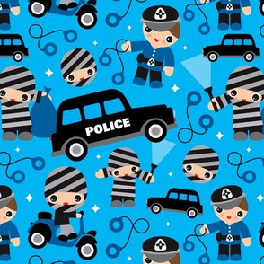 Thiefs and robbers police theme
