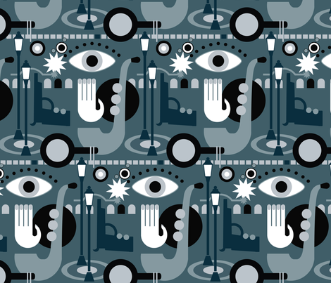 film_noir fabric by motyka on Spoonflower - custom fabric